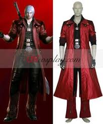 Dante Cosplay Costume Devil Cry Cosplay Halloween Costume
