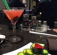 martini bacardi din tai fung makes a martini with boba oc weekly
