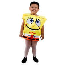 Spongebob Halloween Costume Toddler Spongebob Costume Ebay