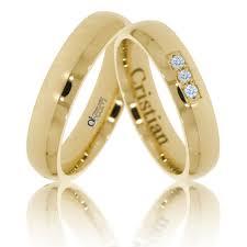 verighete cu diamant verighete atcom atc886 aur galben cu pietre de zirconiu sau