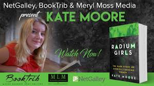 with kate author of the radium scone with
