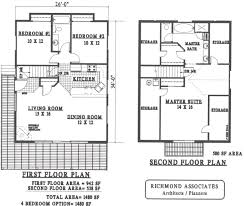 Floor Plans Under 1000 Sq Ft by Simple Small House Floor Plans Hahnow