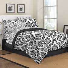 Damask Comforter Sets Black White Scroll Teen Bedding Damask Print King Comforter