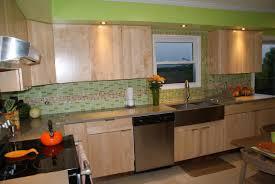 a modern kitchen citrus splash kitchen design