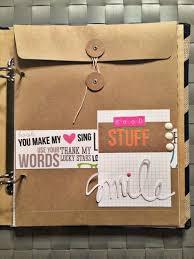 Scrapbook Binder 41 Best Envelope Mini Scrapbook Albums Images On Pinterest Mini