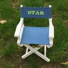 fauteuil bebe avec prenom fauteuil metteur en scène personnalisé