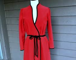 Vanity Fair Housecoat 1970s Robe Etsy
