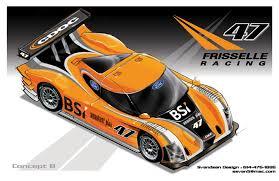 motorsports paint scheme design