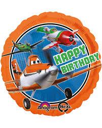 birthday helium balloons foil balloon planes disney happy birthday helium balloon