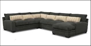 Value City Sectional Sofa Ventura 4 Sectional With Left Facing Chaise In Charcoal By