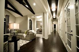 flooring cozy dark wood floors for rustic home design ideas