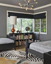 Dark Grey Bedroom by Handsome Purple And Grey Bedroom Theme Decorating Ideas Blue White