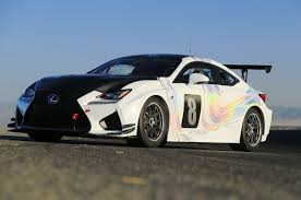 lexus rc f toyota 86 lexus rc f gt concept competing at pikes peak this year