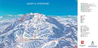 Mt Snow Trail Map Poiana Brasov Piste Map Trail Map