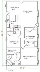 Barn Homes Floor Plans This Is My Revised 30x40 Barn House 3 Bedrooms 2 Bathrooms 2