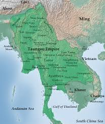 Goo Map File Map Of Taungoo Empire 1580 Png Wikimedia Commons