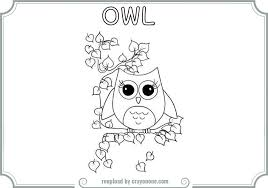 100 cute owl printable coloring pages zigzag the owl coloring