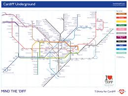 Dart Map We Hope You Like Our Map Of The Cardiff Underground As Featured