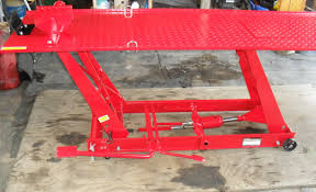 motorcycle lift table for sale review of the harbor freight motorcycle lift table motopsyco s