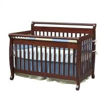 Bed Rails For Convertible Crib Davinci Emily 4 In 1 Convertible Crib With Bed Rails In Cherry