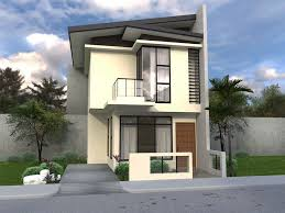 modern home design narrow lot small affordable modern house designs plan wood contemporary plans