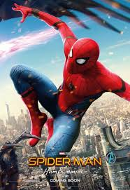 spider man homecoming posters team iron man fight