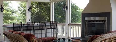 screened porch design mchale landscape design