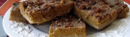 wendy s thanksgiving pumpkin pie bars betty rosbottom
