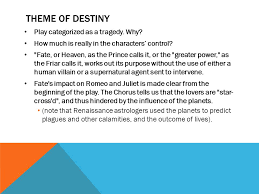 theme of fate in romeo and juliet essay romeo juliet themes ppt download