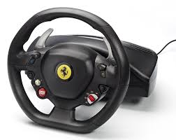 fake ferrari 458 ferrari f458 italia racing wheel xbox 360 amazon co uk pc