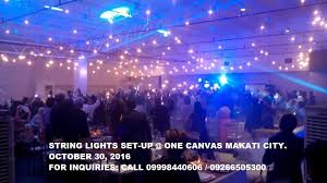 string lights for wedding events manila makati
