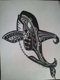 43 best polynesian whale tail tattoo art images on pinterest