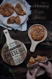 騅iers cuisine 爱厨房的幸福之味 热狗比萨面包 直接法 hotdog pizza bread