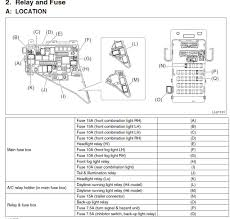 2012 subaru outback 2 5i premium how to disable drl and