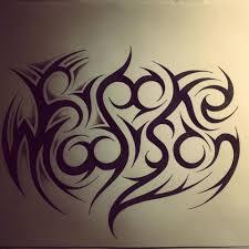 tribal name tattoo ideas hidden name tribal tattoo by dirtfinger deviantart com on