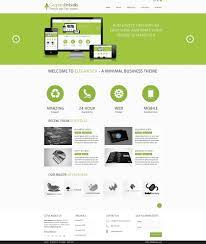18 photoshop website templates free download images website