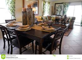 interior design model homes pictures model home interior design stock photo image of table 2061280