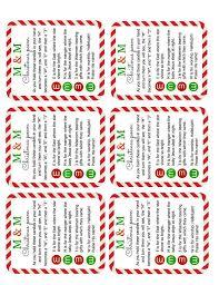 m u0026m christmas poem candy jar tutorial simple sojourns