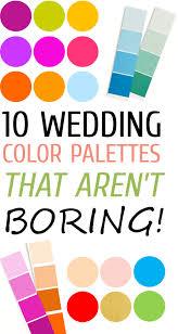 Color Combination Finder 10 Wedding Color Palettes That Aren U0027t Boring The Perfect Palette