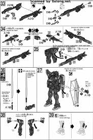 hg f91 gundam harrison maddin english manual u0026 color guide mech9