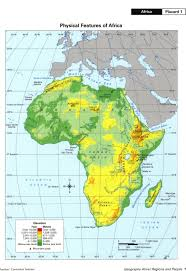 Physical Africa Map by North America Physical Map Freeworldmapsnet North America