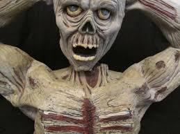 spirit halloween returns rare spirit halloween animated screaming tormented zombie prop