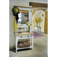 Entrance Tables And Mirrors Gorgeous Hallway Tables And Mirrors With Wrought Iron Coat Hooks