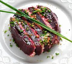 comment cuisiner le thon frais comment cuisiner le thon frais mille feuille de betterave