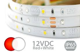 Marine Led Strip Lights Red White Selectable Marine Led Strip Lights Heraco Lights