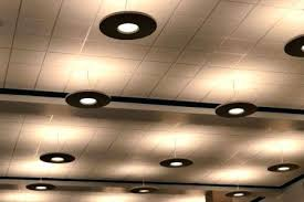Drop Ceiling Light Fixture Suspended Ceiling Lighting Options How To Hang Fixtures From A