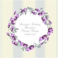 lavender wedding invitations lavender wedding invitation design vector free
