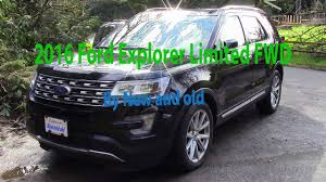Ford Explorer Old - 2016 ford explorer limited fwd by new and old youtube