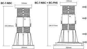 Buzon Pedestal Buzon Pedestal Bc 7 224 365 Mm Getshopin