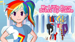 my little pony dress up game youtube